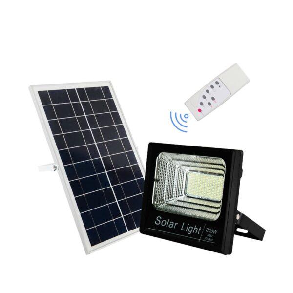 Ηλιακός-Προβολέας-Αδιάβροχος-200W-με-Φωτοβολταϊκό-Πάνελ-Τηλεκοντρόλ-και-Χρονοδιακόπτη-electronistas.gr