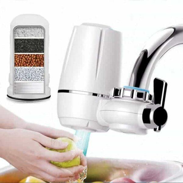 Φίλτρο Καθαρισμού Νερού Βρύσης 7 Σταδίων Κεραμικό Για 10.000 Λίτρα Καθαρό Νερό electronistas.gr
