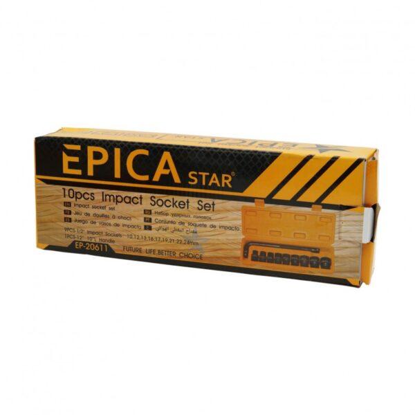 ΣΕΤ ΚΑΡΥΔΑΚΙΑ 10ΤΜΧ EPICA STAR TO-EP-20611