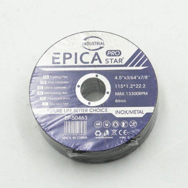 ΔΙΣΚΟΣ ΛΕΙΑΝΣΗΣ ΜΕΤΑΛΛΟΥ 115*1.2*22.2mm EPICA STAR TO-EP-50463