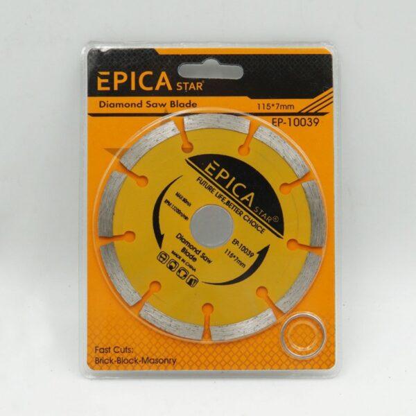 ΠΡΙΟΝΟΛΑΜΑ ΔΙΑΜΑΝΤΕ 115*7mm EPICA STAR - electronistas.gr