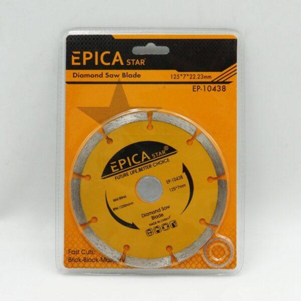 ΠΡΙΟΝΟΛΑΜΑ ΔΙΑΜΑΝΤΕ 125*7*22.23mm EPICA STAR TO-EP-10438