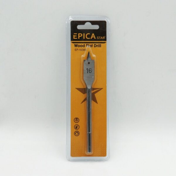 ΕΠΙΠΕΔΟ ΤΡΥΠΑΝΙ ΞΥΛΟΥ 16mm EPICA STAR - electronistas.gr