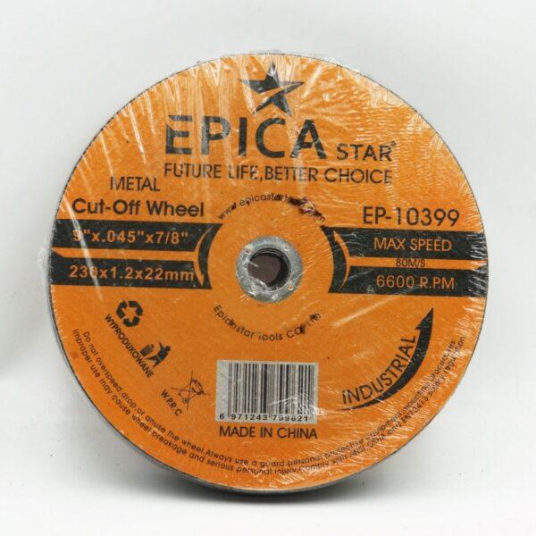 ΔΙΣΚΟΣ ΚΟΠΗΣ 230*1.2*22mm EPICA STAR TO-EP-10399