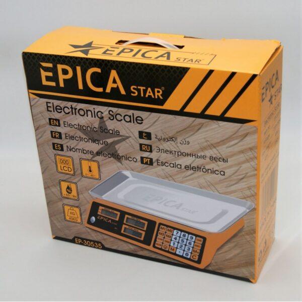 ΨΗΦΙΑΚΗ ΖΥΓΑΡΙΑ 40kg EPICA TO-EP-30535