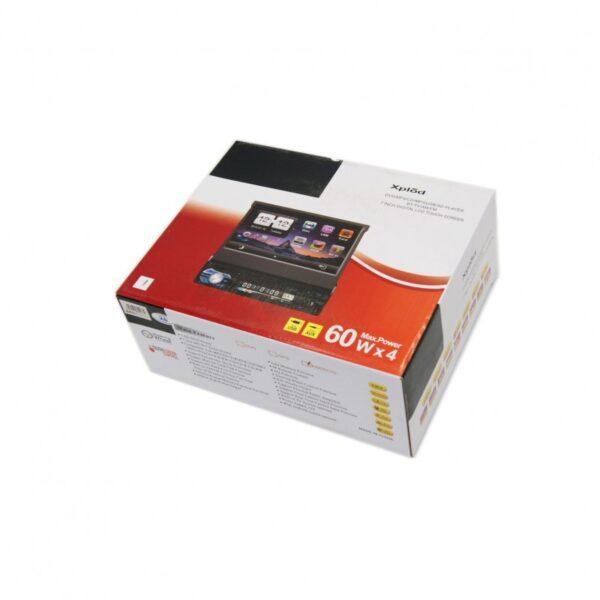 7''DIGITAL LCD TOUCH SCREEN DVD MP4 CD MP3 USB SD PLAYER BT TV AM/FM AU-SP-0067