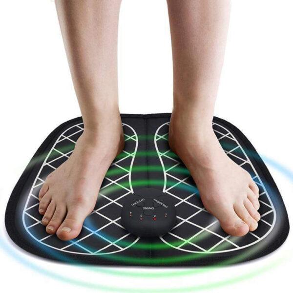 Συσκευή Μασάζ Ποδιών EMS Ηλεκτρομυικής Διέγερσης - Χαλάκι Massage Foot Mat electronistas.gr