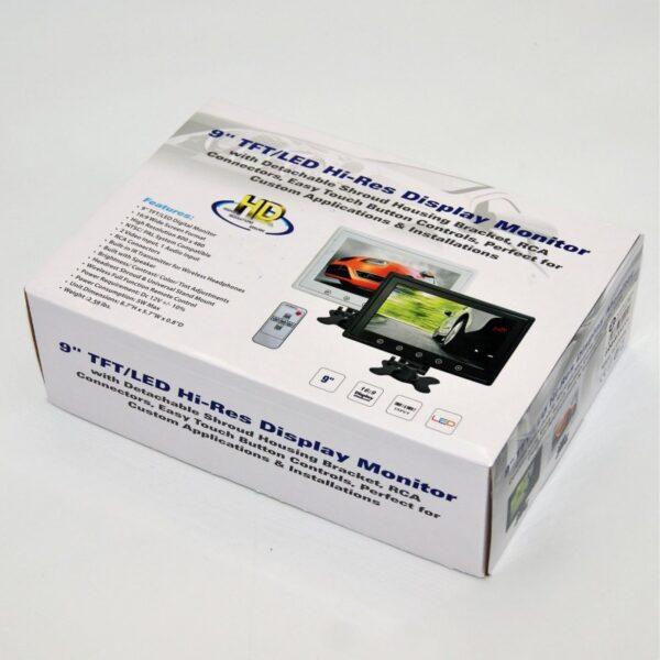 9'' TFT/LED Hi-Res DISPLAY MONITOR AU-SP-0025