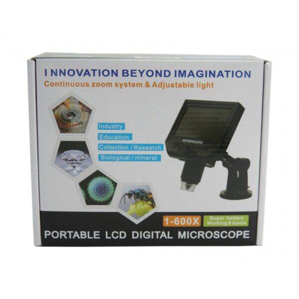ΜΙΚΡΟΣΚΟΠΙΟ ΜΕ ΟΘΟΝΗ LCD HO-1-600X