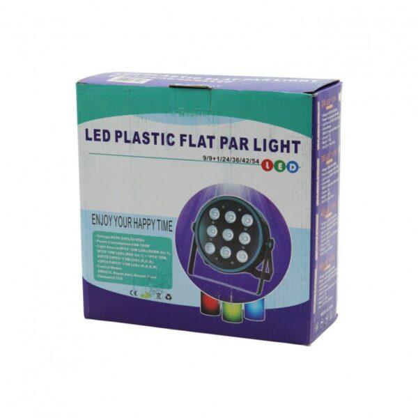 LED ΦΩΤΟΡΥΘΜΙΚΟ 9+1 RGB PRO-47701