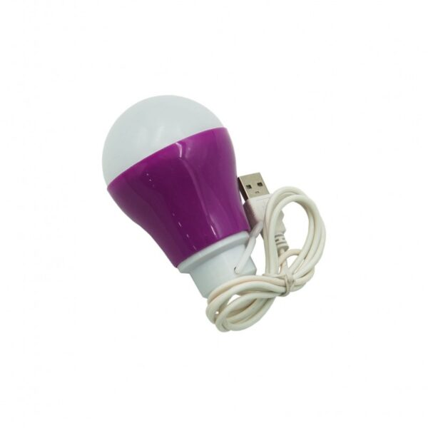 ΛΑΜΠΑ LED ΜΕ USB TY-PURPLE