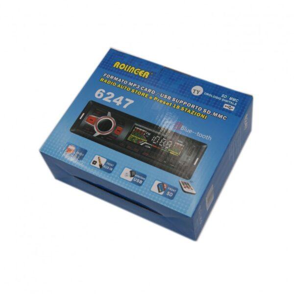 ΗΧΟΣΥΣΤΗΜΑ ΑΥΤΟΚΙΝΗΤΟΥ MP3 ΜΕ USB SD AU-SP-6247