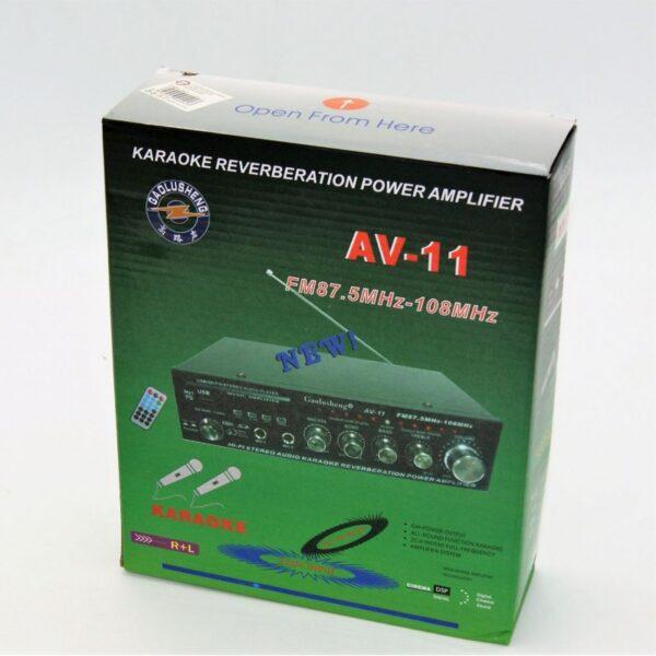 POWER ΕΝΙΣΧΥΤΗΣ KARAOKE AV-11 AU-SP-2352