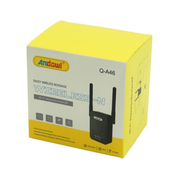 WIFI REPEATER/ROUTER ANDOWL AN-Q-A46