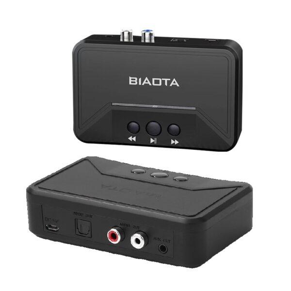 Αντάπτορας ήχου Bluetooth 5.0 – RCA/AUX – Audio Reciever – BT300 electronistas.gr