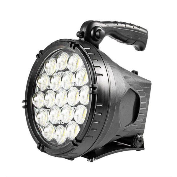 Επαναφορτιζόμενος φακός χειρός LED – 4.2V electronistas.gr