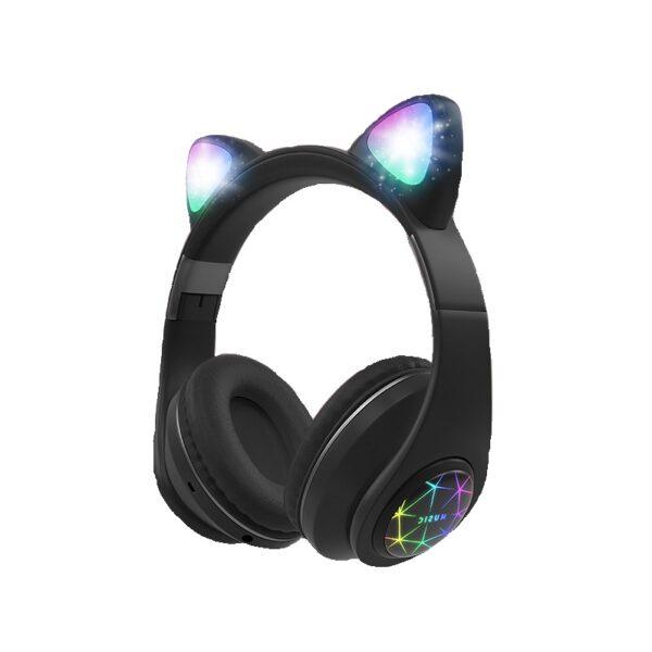 Ασύρματα ακουστικά – Cat Headphones – M2 – Black