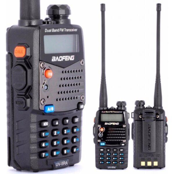 ΑΣΥΡΜΑΤΟΣ DUAL BAND ΠΟΜΠΟΔΕΚΤΗΣ VHF/UHF BAOFENG UV-5RA electronistas.gr