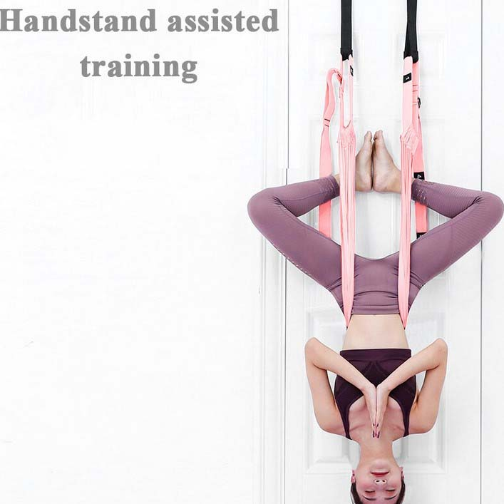 Aerial Swing για Yoga & Pilates - Ιμάντες με Λαβές για Στήριξη στη Πόρτα electronistas.gr