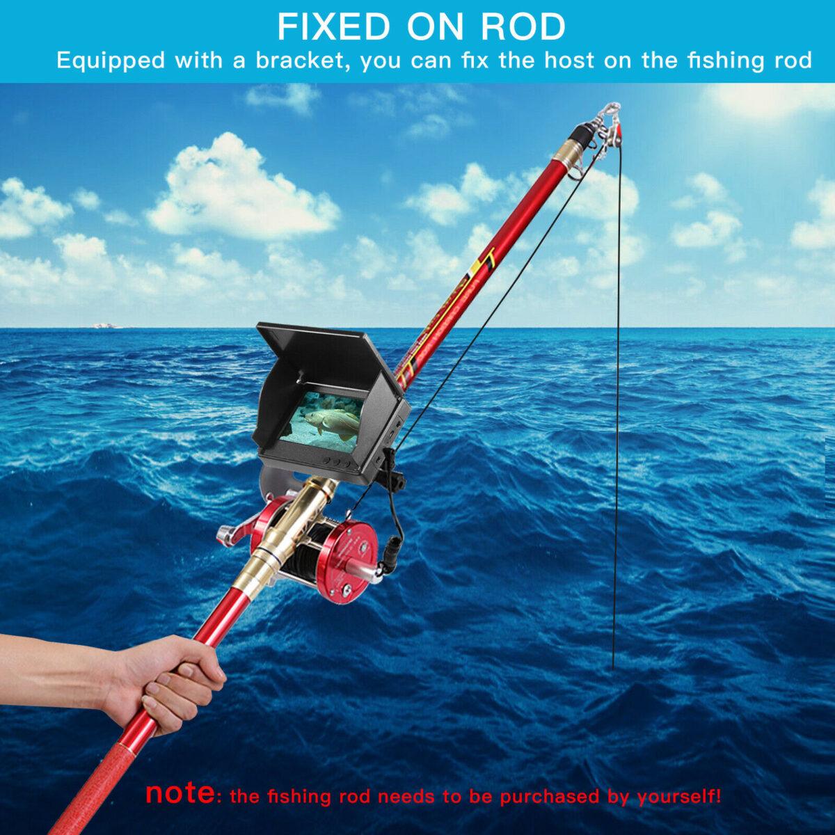 """Ανιχνευτής ψαριών 4.3"""" Οθόνη με Κάμερα για Βάθος ως και 20μ electronistas.grΑνιχνευτής ψαριών 4.3"""" Οθόνη με Κάμερα για Βάθος ως και 20μ electronistas.gr"""